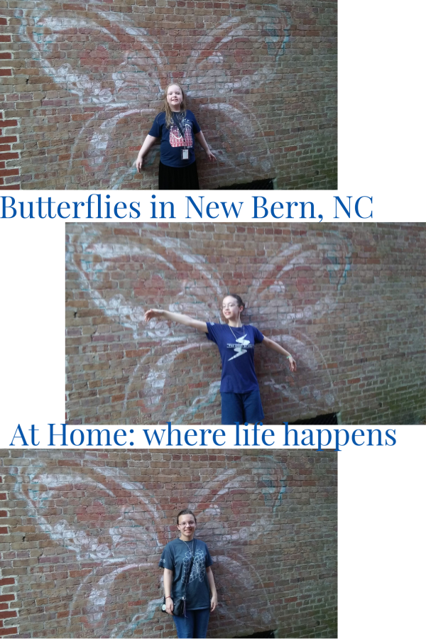 New Bern NC Butterfly Girls