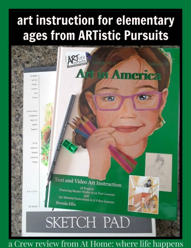 ARTistic Pursuits art instruction