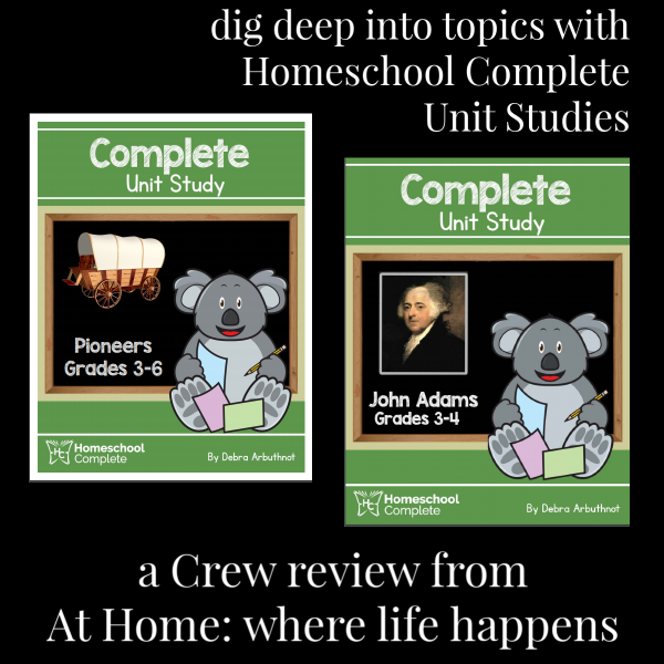 Homeschool Complete post image for unit studies