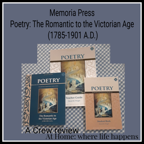 Poetry set from Memoria Press