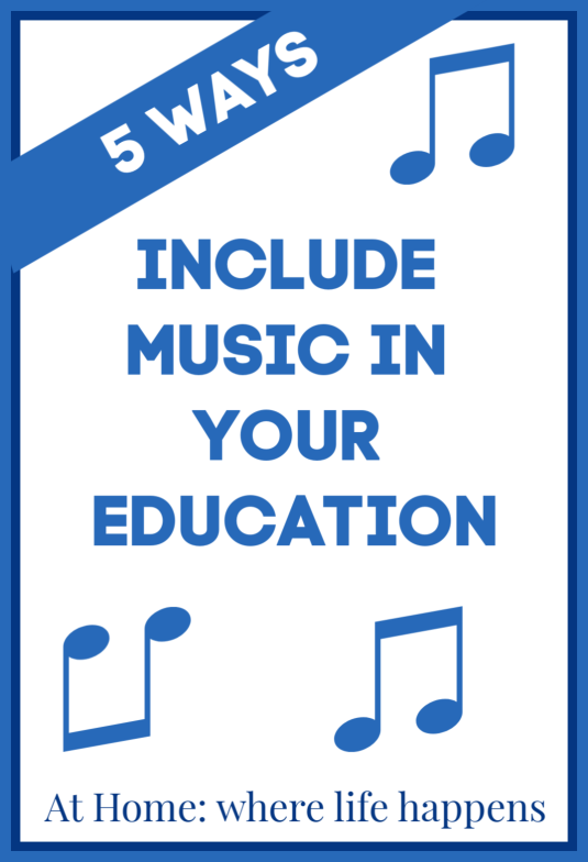 5 Ways to Include Music