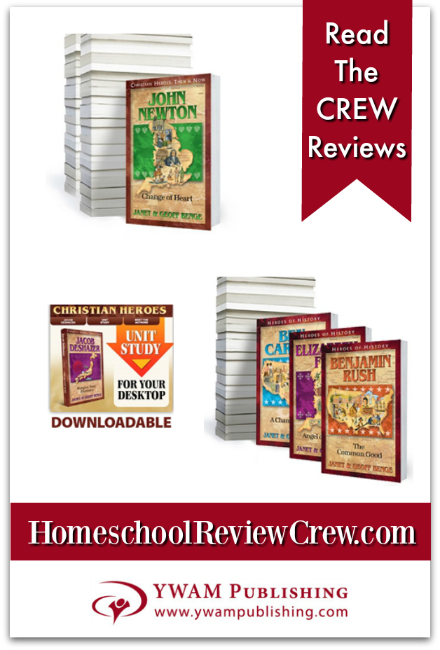 Study-Guides-Christian-Heroes-Then-Now-Heroes-of-History-YWAM-Publishing-Reviews