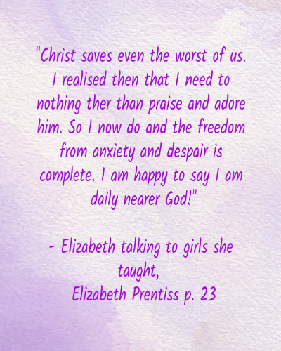 Elizabeth Prentiss review quote