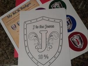 The Kingdom Code JR Budget Kit