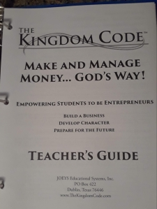 The Kingdom Code Teacher's Guide cover