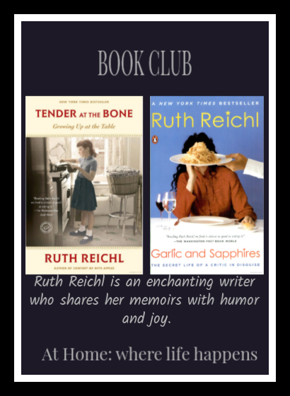 Ruth Reichl Book Club
