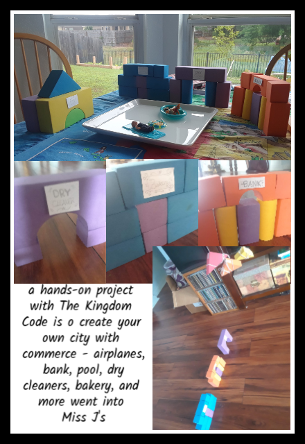 The Kingdom Code activity