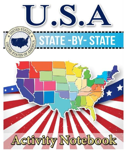 50 states activity notebook
