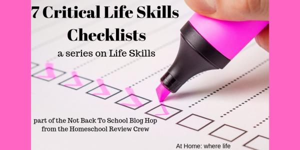 7 Critical Life Skills Checklists