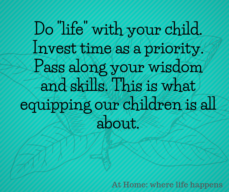 Do _life_ with your child