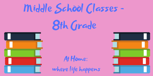 Middle School Classes - 8th Grade classes