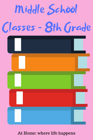 Middle School Classes -8th Grade