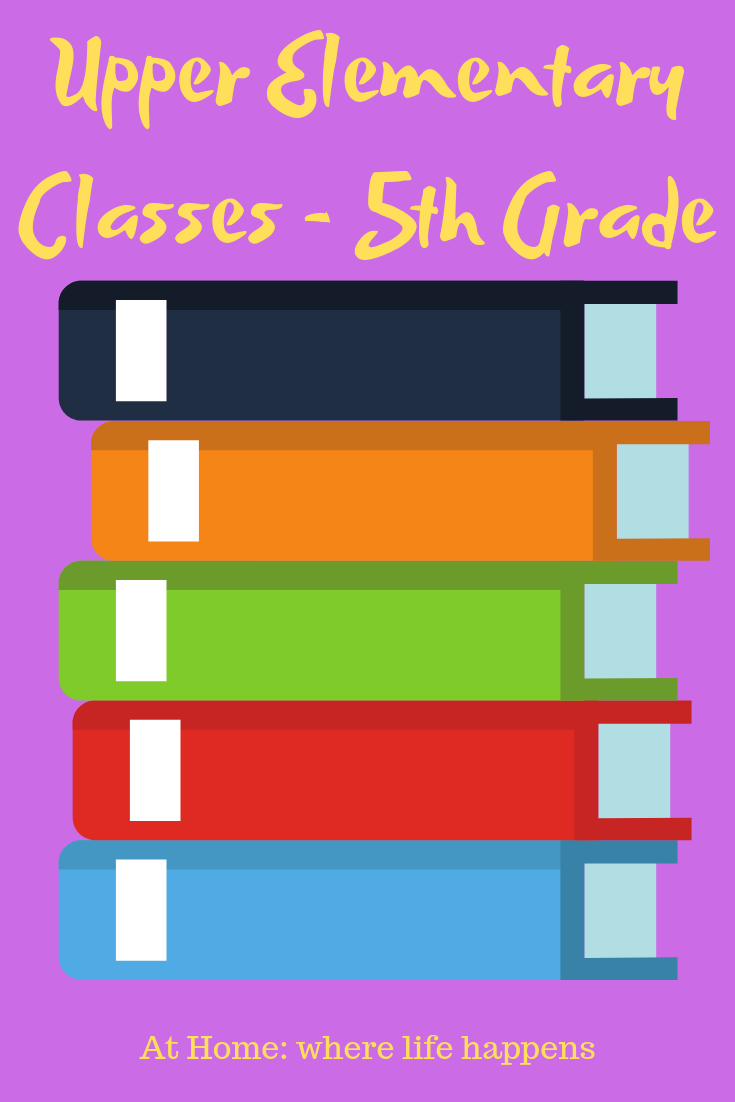 Upper Elementary Classes -5th Grade