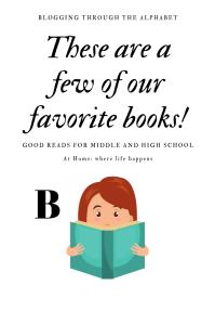 Books B pin