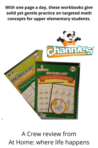 Channies workbooks for math