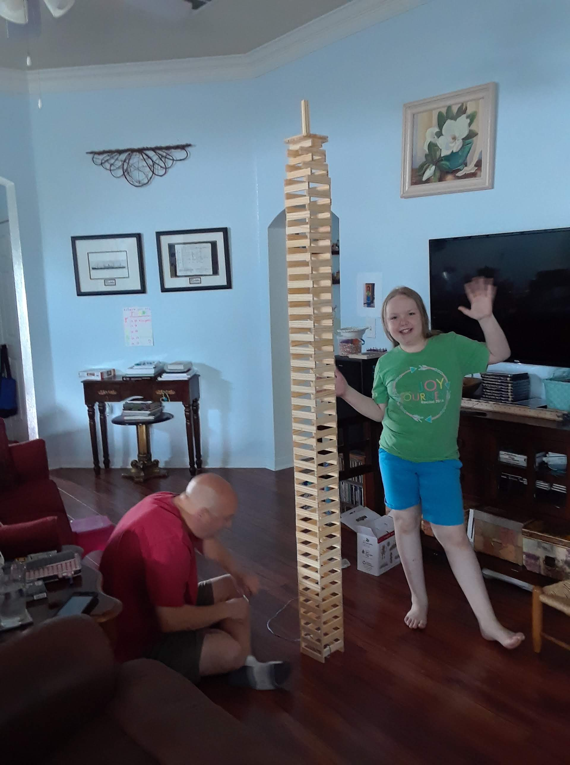 plank tower