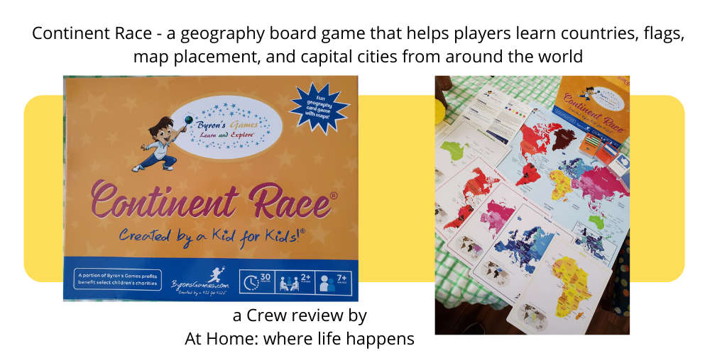 Continent Race - a geography board game