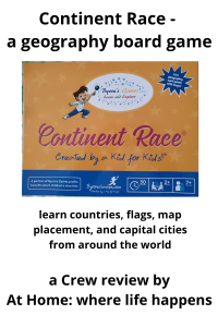Continent Race - a geography game