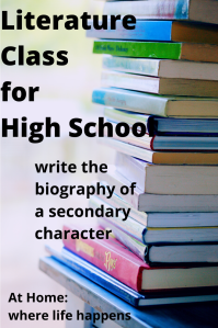 write the bio of secondary character