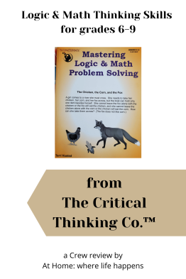 Logic & Math Thinking Skills for grades 6-9