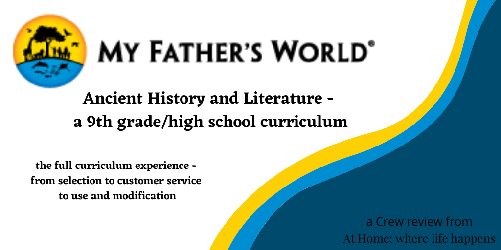 Ancient History and Literature - a 9th grade_high school curriculum