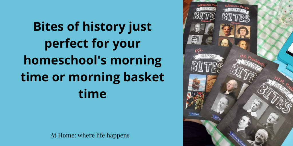 Bites of history just perfect for morning time